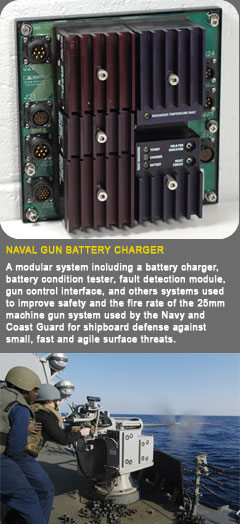 Naval Gun Battery Charger